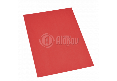 Barevný papír červený A4/80g/100 listů