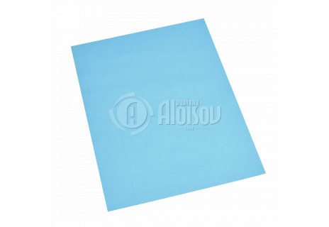 Barevný recyklovaný papír modrý A3/80g/100 listů