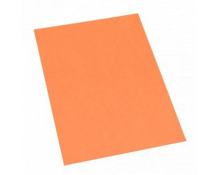 Barevný recyklovaný papír oranžový A4/180g/100 listů