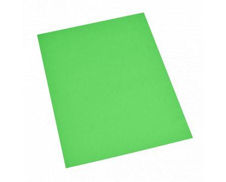 Barevný recyklovaný papír zelený A4/180g/100 listů