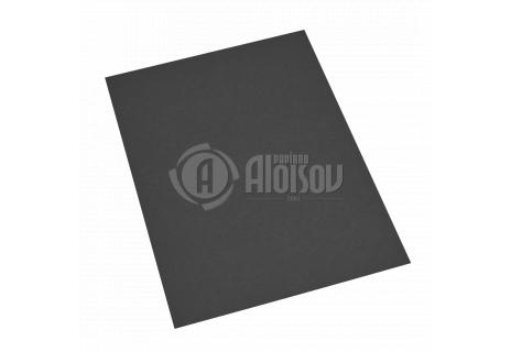 Barevný recyklovaný papír černý A4/80g/100 listů