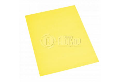 Barevný recyklovaný papír žlutý A4/180g/100 listů