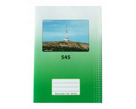 Školní sešit 545