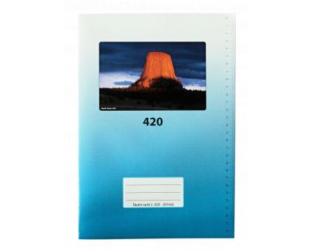 Školní sešit 420