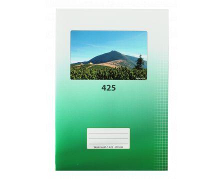 Školní sešit 425