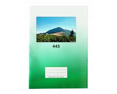 Aloisov školní sešit 445