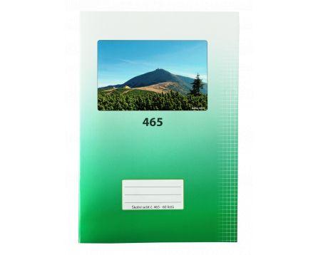 Školní sešit 465