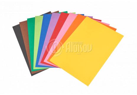 Barevný papír duha A3/80g/500 listů