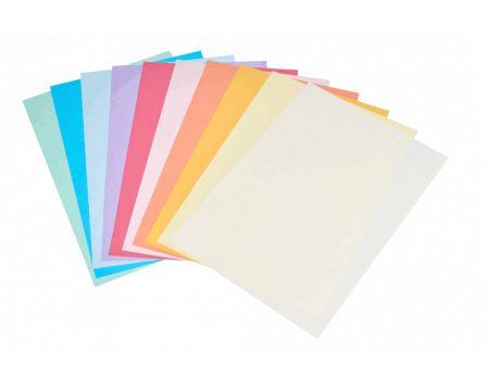Barevný kopírovací papír duha 10 barev A3/80g/100 listů