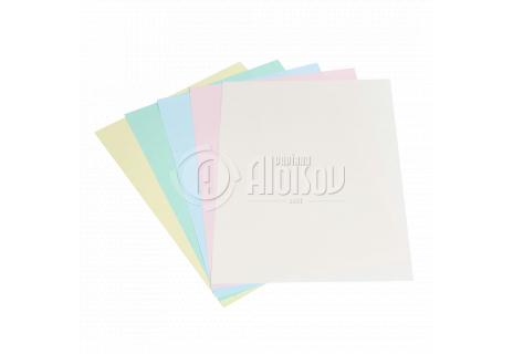 Barevný kopírovací papír duha 5 barev pastel A3/80g/500 listů