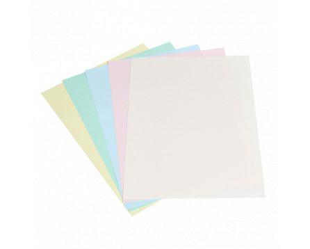 Barevný kopírovací papír duha 5 barev pastel A3/80g/100 listů