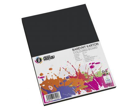 Barevný papír černý A4/180g/100 listů