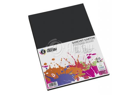 Barevný papír černý A3/180g/50 listů