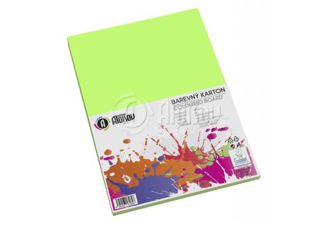 Barevný papír zelený A3/180g/100 listů