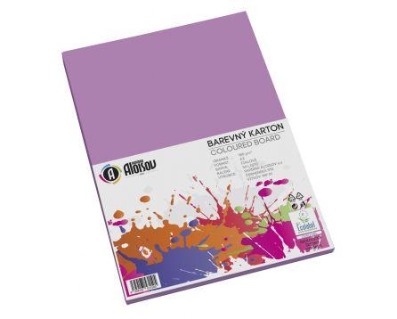 Barevný papír fialový A3/180g/50 listů