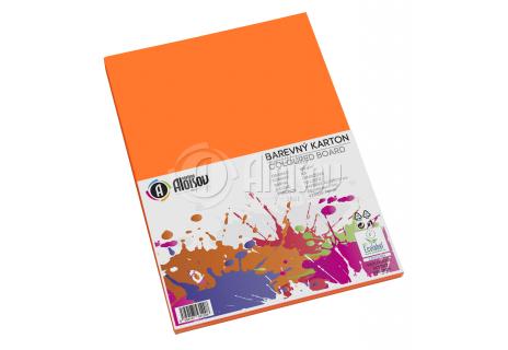 Barevný papír oranžový A3/180g/50 listů