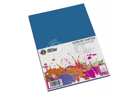 Barevný papír modrý A4/180g/50 listů