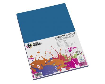 Barevný papír modrý A3/180g/50 listů