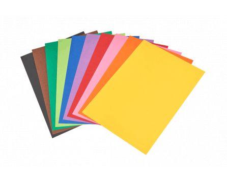 Barevný papír duha A3/180g/100 listů