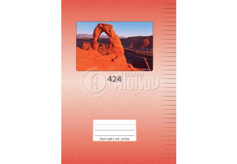 Aloisov školní sešit 424