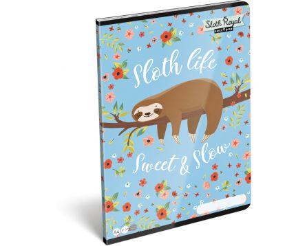 Školní sešit A4 Lollipop Sloth Royal