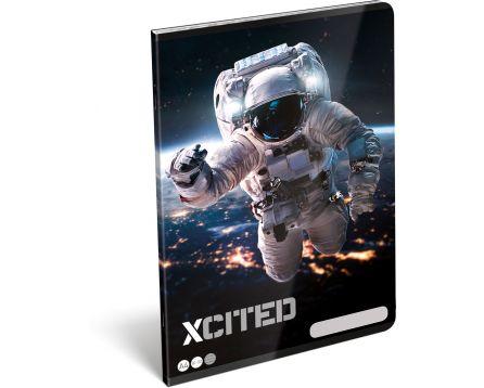 Školní sešit A4 X-Cited Space