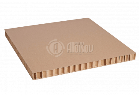 Aloisov voštinová deska 20mm hnědá, 1200x800mm