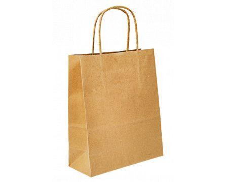 Papírová taška hnědá 450x455x150 mm