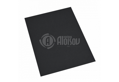 Barevný papír černý A2/180g/200 listů